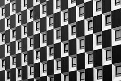 windows (heinzkren) Tags: fassade facade building gebäude haus architektur architecture panasonic lumix schwarzweis blackandwhite bw monochrome pattern muster wien vienna
