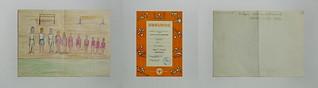 Gymnastics and Sports Union: Certificate Gymnastics Contest 1975 - drawing for a Drawing Competition 1976 Österreichische Turn u. Sport Union: 1975 Turnen 12,0 Punkte, 1976 Zeichenwettbewerb. Gemeinsam in der UWW mit der heutigen Besitzerin der Wäscherei
