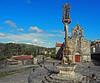 Cruceiro e iglesia de Santo André do Hío, Cangas (Pontevedra) (Miguelanxo57) Tags: crucero iglesia arquitectura hío cangasdomorrazo pontevedra galicia románico barroco nwn