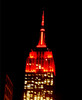 Red of love for Valentines Day (Clara Ungaretti) Tags: empirestatesbuilding building skyline red redlight nyc ny newyork newyorkcity novayork america manhattan estadosunidos estadosunidosdaamérica unitedstatesofamerica unitedstates us usa urban street streetlife streetphotography