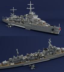 Trappist-class Cruiser Orval (Lego Pilot) Tags: lego ldd lightcruiser ship trappist dc achtfaden nürnberg blender