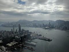 IMG_20171128_104841 (Sweet One) Tags: icc sky100 observationdeck view city skyline buildings towers hongkong harbour