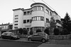 (soreen.d) Tags: artdeco architecture building ploiesti romania modernism bw