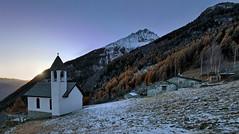 Susen (apemarco) Tags: alps valtellina dusk winter snow blue schiazzera