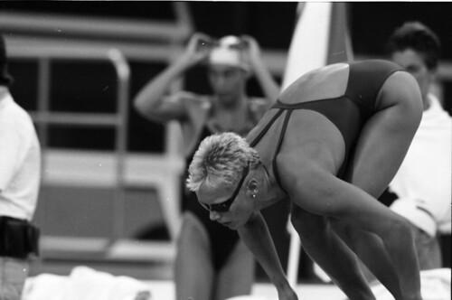 343 Swimming EM 1991 Athens