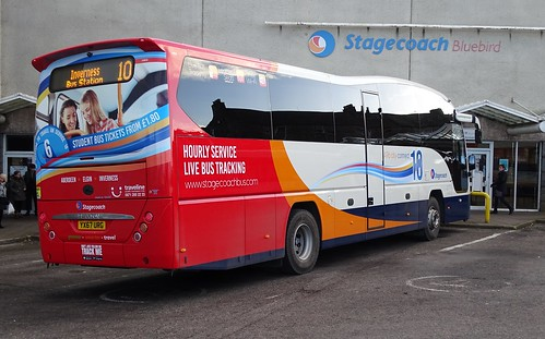 Stagecoach Bluebird 54830 YX67 URG