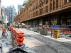 CBD & South East Light Rail - George Street - Update 20 November 2017 (2) (john cowper) Tags: cselr georgestreet queenvictoriabuilding tracks paving thoroughfare alignment transportfornsw cityofsydney plaza construction conversion sydneylightrail sydney newsouthwales