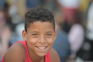 Smile in Havana.