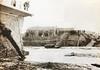 Riuada de 1962. Pont entre Cerdanyola i Ripollet destruït - Cedida pel Servei de Patrimoni de l'Ajuntament de Cerdanyola (ArxiuTOT) Tags: cerdanyola cerdanyoladelvallès totcerdanyola riuadade1962 riuada pont ripollet
