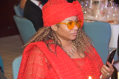 DSC_4540 African Diaspora Awards (ADA) Ceremony and Christmas Ball Conrad Hotel St. James London with Nicole Ross from Philadelphia Wearing a Red Orange West African Cultural Dress (photographer695) Tags: african diaspora awards ada ceremony christmas ball conrad hotel st james london with nicole ross from philadelphia wearing red orange west cultural dress