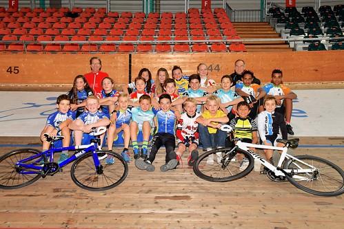 Ecole de cyclisme de la piste, élèves groupe 1