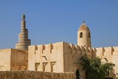 Happy Friday / Minarets in Doha, Qatar (Frans.Sellies) Tags: img6011 qatar mosque minaret قطر