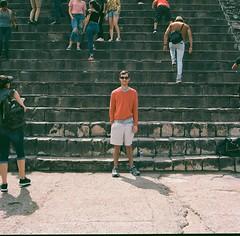 N. (marykatharinepayne1) Tags: teotihuacan 120mm steps stone travel hasselblad film