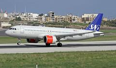 SE-ROA LMML 03-11-2017 (Burmarrad (Mark) Camenzuli) Tags: airline scandinavian airlines sas aircraft airbus a320251n registration seroa cn 7602 lmml 03112017