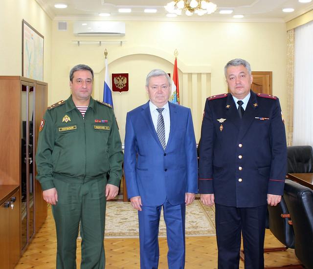 Начальником Управления Росгвардии поСамарской области назначен полковник Александр Эсауленко
