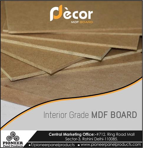 Interior Grade MDF Board