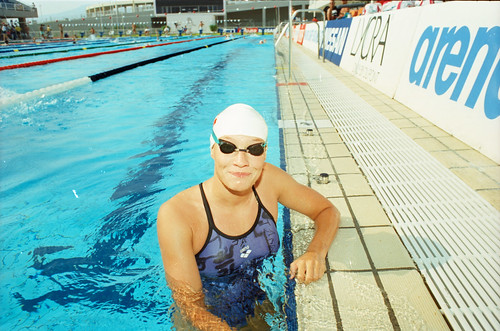 550 Swimming EM 1991 Athens
