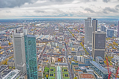 FRANKFURT (01dgn) Tags: frankfurt frankfurtammain hessen germany deutschland almanya skylines sky clouds landscape travel city urban