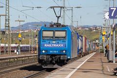 Railtraxx 185 510  Weil am Rhein (daveymills37886) Tags: railtraxx 185 510 weil am rhein baureihe cargo traxx