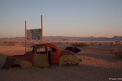 Sunset in Solitaire - 26th July 2017 (princetontiger) Tags: roadtrip nairobitocapeandback africa namibia desert arid solitaire car disrepair disuse abandoned rust ruraldecay rural