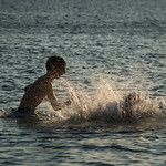 Boys in the Water - Batsi, Andros, Greece thumbnail