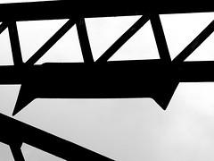 L2017_6215 - Smoke Deflector - CLC Bridge Walton Hall Avenue, Liverpool (www.jhluxton.com - John H. Luxton Photography) Tags: liverpool merseyside waltonhallavenue cheshirelinescommittee bridge wwwjhluxtoncom johnhluxtonphotography disusedrailway abandonedrailway 2017 blackandwhite england uk abandoned leica leicavlux3