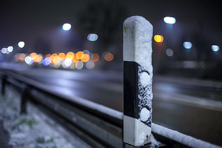 Snowy winter night...