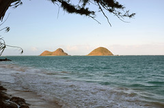 Hawaii, Oahu, Mokulua Islands (Southeast Coast) (EC Leatherberry) Tags: hawaii oahu island pacificocean islet volcaniccone mokes twinislands southeastcoastofoahu mokuluaislands