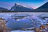 Vermilion Lakes - Banff (AnitaErdmann) Tags: 2017 alberta anitaerdmann banff dec december fuji fujifilm xt2 winter ©anitaerdmann2017 vermilionlakes mountrundle outdoor bluehour