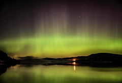 Aurora Borealis - Bassenthwaite Lake (John Gravett LPH) Tags: auroraborealis bassenthwaite lake lakedistrict northernlights johngravett lph lakelandphotographicholidays