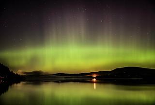 Aurora Borealis - Bassenthwaite Lake