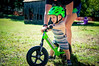 1026 (StriderBikes) Tags: 12 2017 assist bibs boy classic grass green helmet ittybitty mom mother october overalls photocontestentry shorts