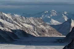 Jungfraufirn als oberer Teil des grossen Aletschgletscher ( Gletscher glacier ghiacciaio 氷河 gletsjer ) in den Walliser Alpen - Alps unterhalb dem Jungfraujoch im Kanton Wallis - Valais der Schweiz (chrchr_75) Tags: christoph hurni schweiz suisse switzerland svizzera suissa swiss chrchr chrchr75 chrigu chriguhurni chriguhurnibluemailch november2017 november 2017 albumzzz201711november gletscher glacier ghiacciaio 氷河 gletsjer kantonwallis kantonvalais wallis valais albumgletscherimkantonwallis alpen alps