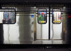 Underground Strangers (jeffcbowen) Tags: ttc toronto subway