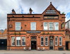 Terracotta Trimmings (Non Paratus) Tags: manchester building architecture terracotta brick 1841 victorian salford pub hotel forcedperspective