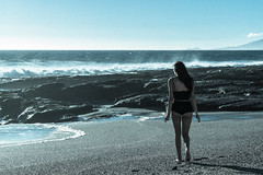 005Darlyn12 de agosto de 2017 (Photo_hector) Tags: playa mujer chica pelirroja sol atardecer blanco y negro piel canela sesion photohector photo