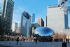 Millennial Cloud Gate (RPahre) Tags: spring chicago illinois downtown chicagoloop millenniumpark cloudgate mirrorball