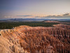 Sunrise At Sunset (echen57) Tags: mountains clouds sunrise bryce canyon national park nature trees sky