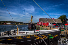 The Thersea E. Connor (Kev Walker ¦ 7 Million Views..Thank You) Tags: bluenose boats building canada canon1855mm canon700d clouds colonialsettlement colorfull digitalart fairhavenpeninsula hdr historic lunenburg novascotia panorama panoramic picturesque postprocessing ship town water waterfront worldheritagesite