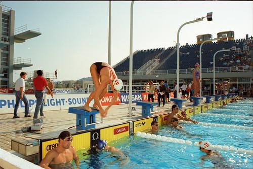 536 Swimming EM 1991 Athens