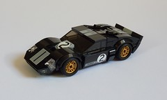 1966 Ford GT40 (MOCs & Stuff) Tags: lego city town 1966 ford gt40 v8 er0l
