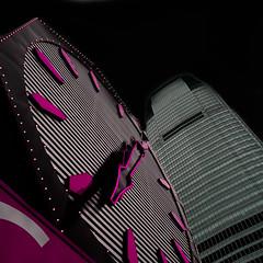 olY/300 .. 6:33pm! (m_laRs_k) Tags: omd olympus nj newjersey usa clock fake pink 7dwf closeup lightroomed dark summer august