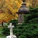 """Cincinnati – Spring Grove Cemetery & Arboretum """"Cross & Vase"""""""