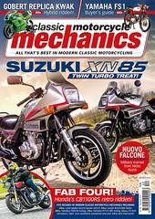 One of my bikes in print (roger.w800) Tags: bike motorbike suzuki classicbike japanesebike vjmc vintagejapanesemotorcycle xn85 suzukixn85 suzukiturbo