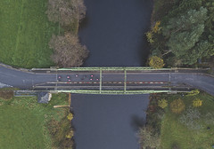 #3 Bikes on the Bridge (Timster1973 - thanks for the 14 million views!) Tags: perspective photo colour color timster1973 copter quadcopter uav dji mavic pro drones droneography drone road grass lines tree boats barges water waterway droning nature high boat trees outside exterior outdoors outdoor forest landscape bikes bicycles transportation transport view vista
