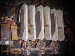 3 Asbestos-Cement Electrical Arc Chutes (Asbestorama) Tags: asbestos inspection survey cement arc chute electrical transite acm asbesto amianto amiante risk safety ih industrialhygiene exposure assessment