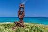 Escultura (Pablunchele!) Tags: mexico islamujeres puntasureste rivieramaya caribe cielo playa oceano mar