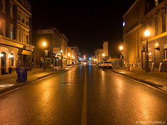 Hunter St., night (andyscamera) Tags: canada hunterst ontario peterborough peterboroughcounty andyscamera night