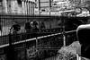 a dividing lines (Fearghàl Nessbank) Tags: nikon d700 blackwhite edinburgh street monochrome mono