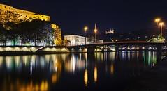 Lyon by night (Ayoub X) Tags: projet365 project365 day21 cityscape lyon night